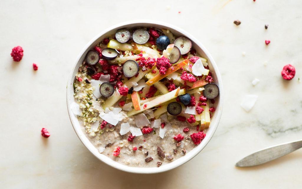bol de cereales y muesli