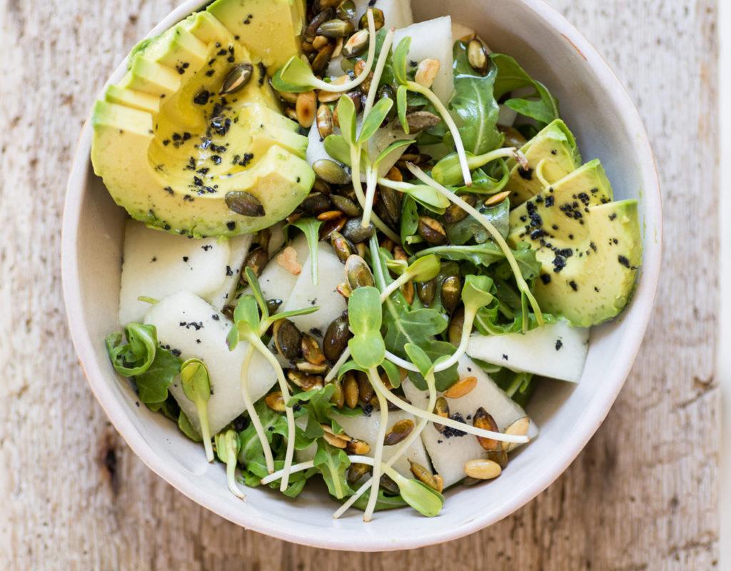 plato de verdes